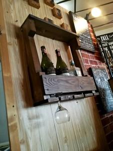 Ahşap 4'lü Şaraplık - Wts78 - Thumbnail