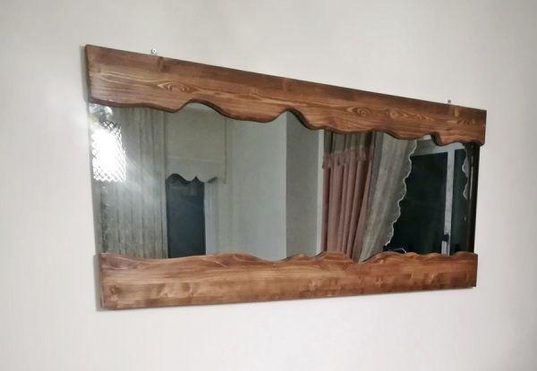 Ahşap Boy Aynası - Wts81