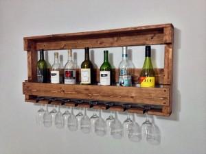 Ahşap Şaraplık - HGT147 - Thumbnail