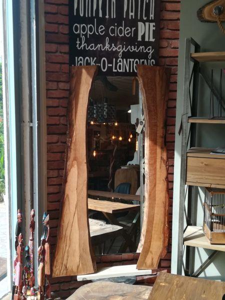 Meşe Ağacı Ayna - Özel Sipariş