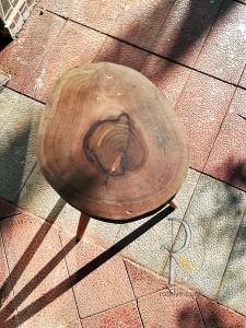 Ceviz Kütüğü Yan Sehpa - CF01-03 - Thumbnail