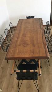Ceviz Yemek Masası - Wts45 - Thumbnail