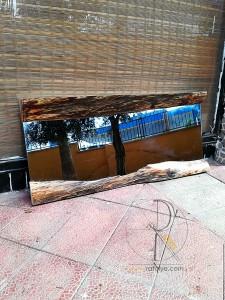Doğal Kenar 100 cm Salon ve Boy Aynası - QA01-05 - Thumbnail
