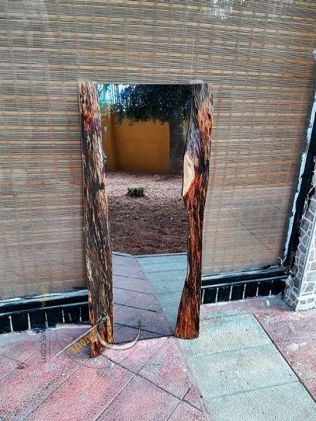 Doğal Kenar 100 cm Salon ve Boy Aynası - QA01-05