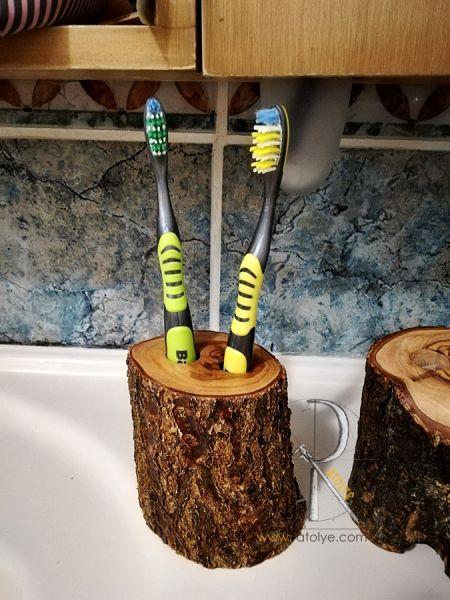 Kütük Diş Fırçalığı - CA09-02
