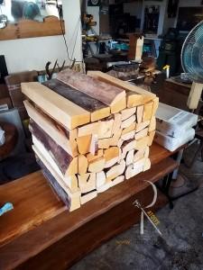 Kütük Kaplı Dolap - SF02-02 - Thumbnail