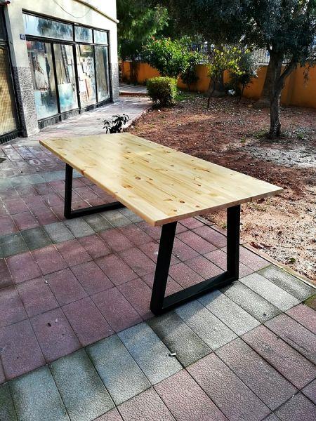 Masif Ahşap Yemek ve Çalışma Masası - 140x70 - RT1801-28