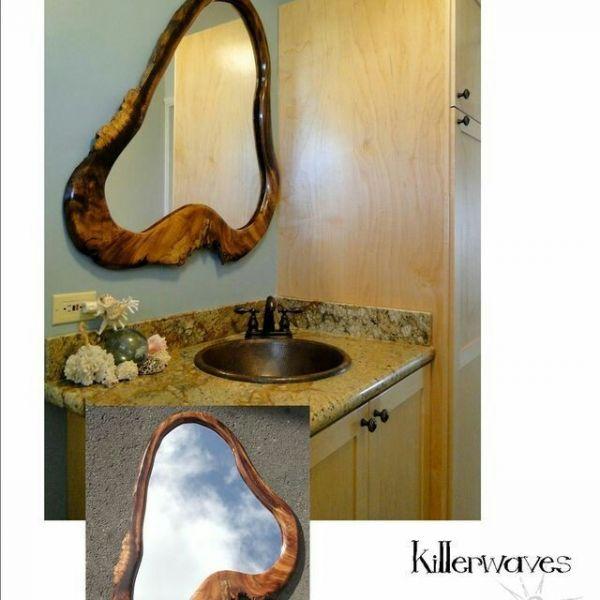 Masif Banyo Aynası - HGT12