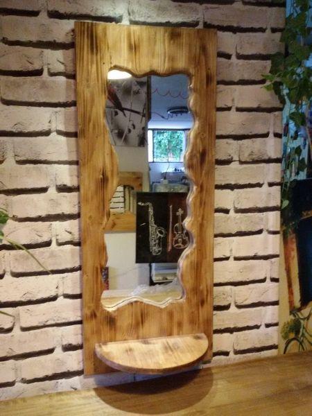 Masif Çam Antre Aynası - MKA5