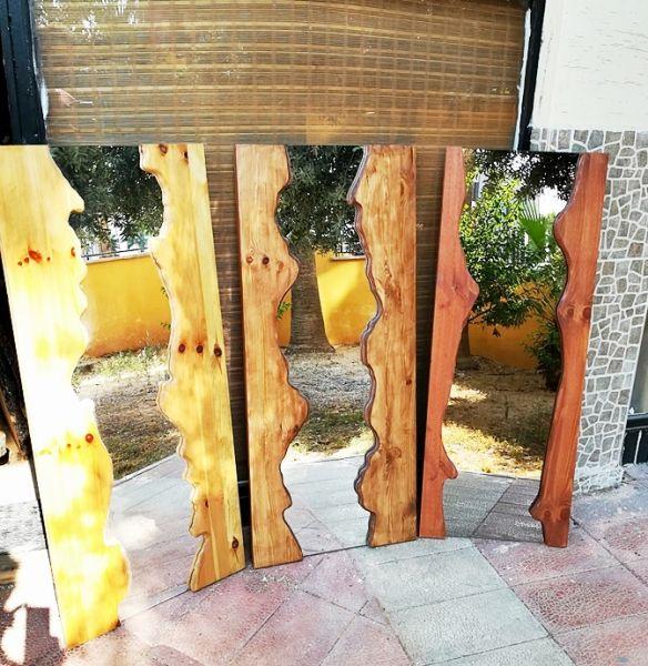 Masif Çam Boy Aynası - MKA30