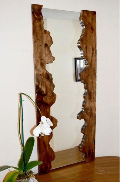 Masif Çam Salon ve Boy Aynası - MKA8