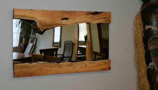 Masif Salon Aynası - 90x60 cm - HGT04