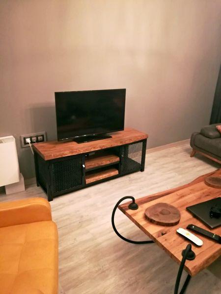 Metal Ahşap TV Sehpası - Wts9