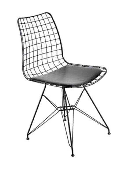 Metal Ayaklı Tel Sandalye - Tel1