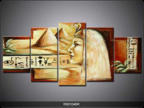5 Parçalı Tablo - Mısır-008