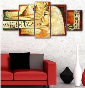 5 Parçalı Tablo - Mısır-008 - Thumbnail
