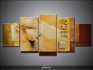 5 Parçalı Tablo - Mısır-001 - Thumbnail