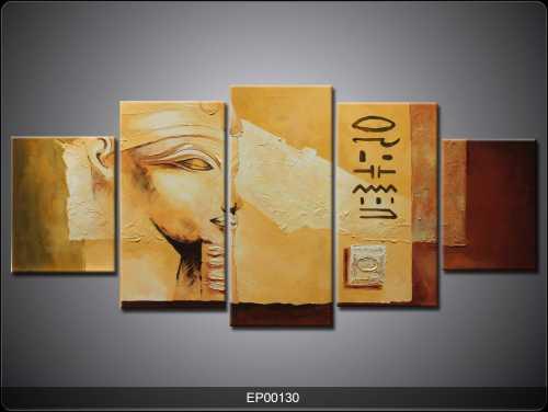 5 Parçalı Tablo - Mısır-001