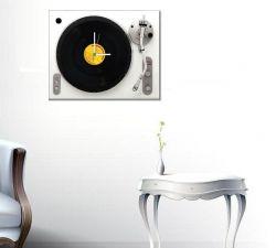 Retro LP Plaklı Pikap Saat - Vestax