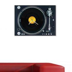 Retro LP Plaklı Pikap Saat - Stanton