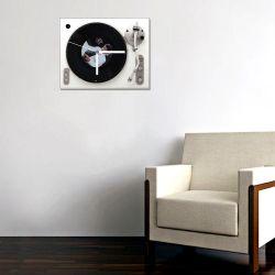 Retro 45lik Plaklı Pikap Saat -BZ45