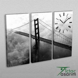 3 Parçalı Tablo & Saat - PCS-025