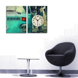2 Parçalı Tablo Saat - PKS-004